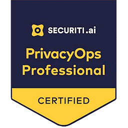 Privacy Ops Professional Securiti.ai Badge